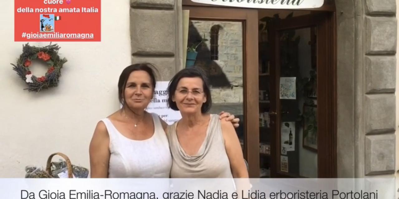 Nadia e Lidia due sorelle con la stessa passione. Erboristeria Portolani, Bagno di Romagna