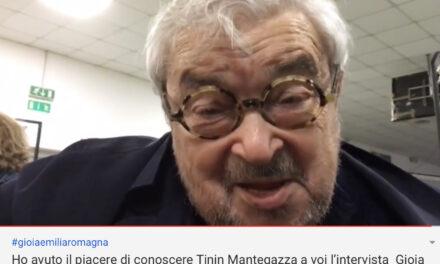 Tinin Mantegazza ed il suo appello per Cesenatico.