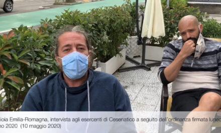 Nuova ordinanza restrittiva, gli esercenti di Cesenatico in protesta.