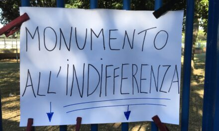Il monumento all'indifferenza