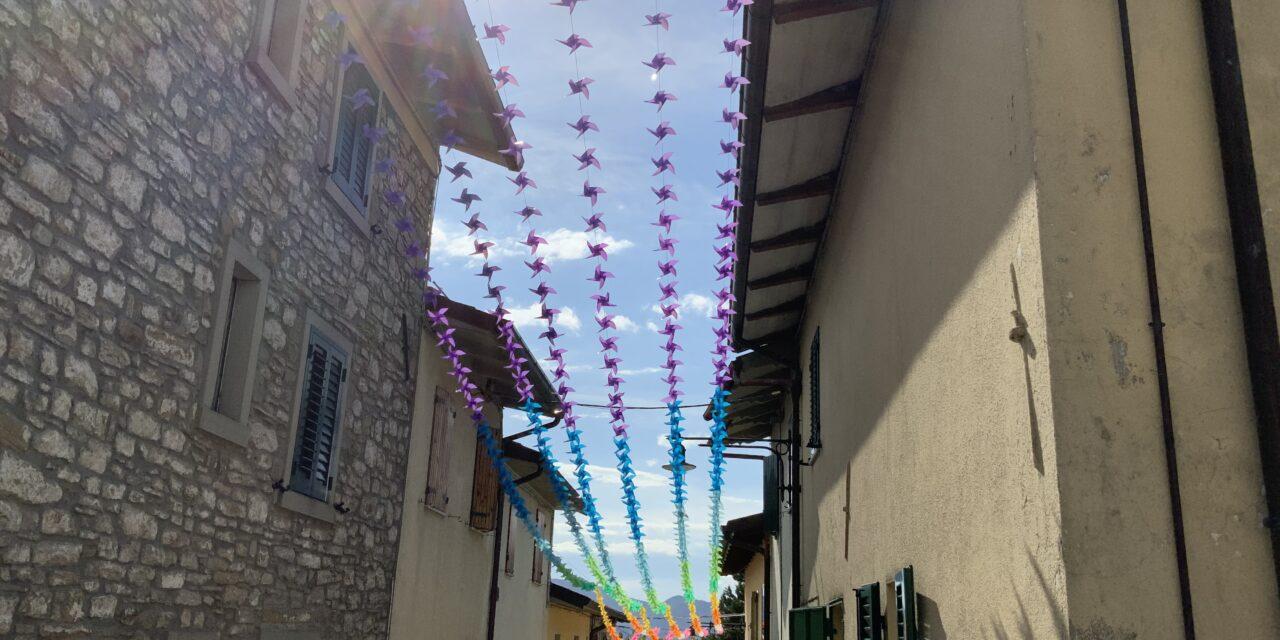 In giro per Montecoronaro, frazione di Verghereto