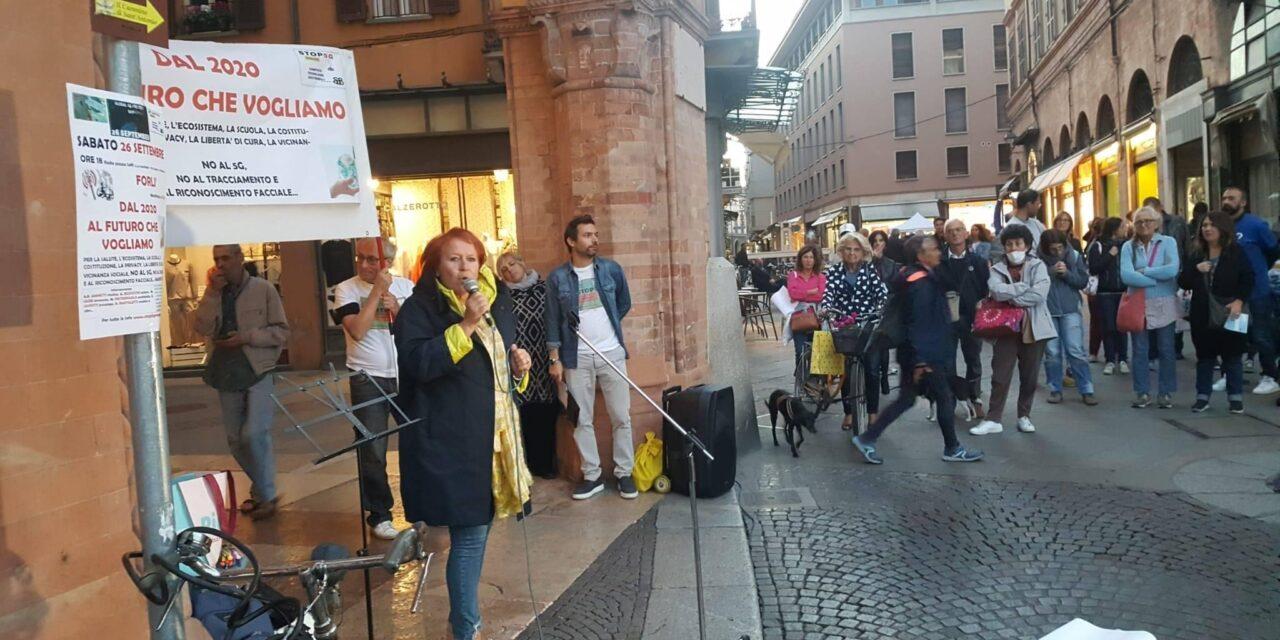 Global 5G protest day. Grande partecipazione sabato pomeriggio a Forli
