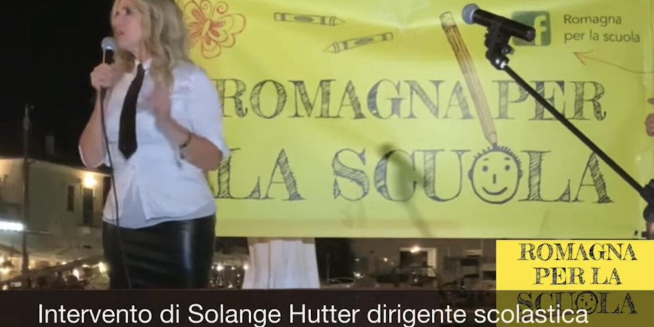 Intervento di Solange Hutter dirigente scolastica