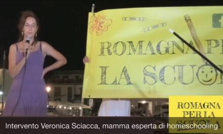 Intervento di Veronica Sciacca, mamma che ha scelto la homeschooling