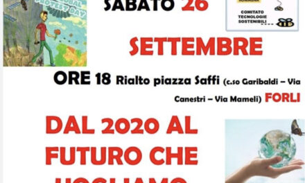 "26 settembre alle ore 18,00 sit in a Forlì per il quarto ""Global 5G protest day"""