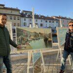 Bruno e la sua nostalgia del Murales di Walter Masotti, che ora non c'è più