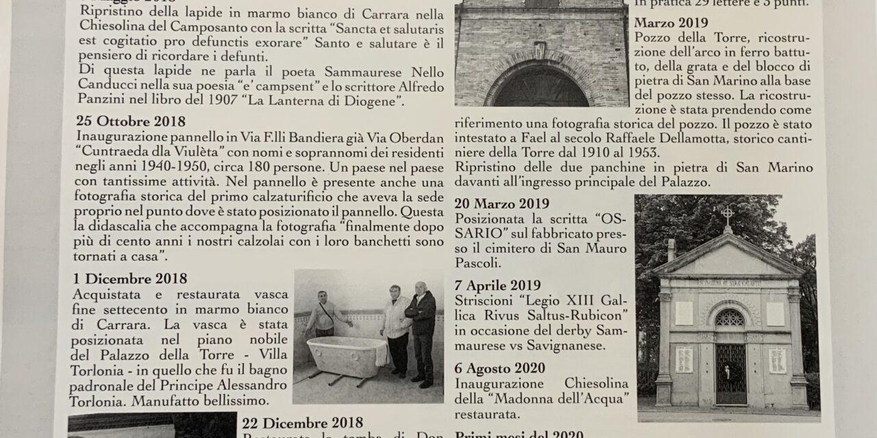 """In zir per Samaèvar """"Metti un sabato in giro per San Mauro Pascoli"""