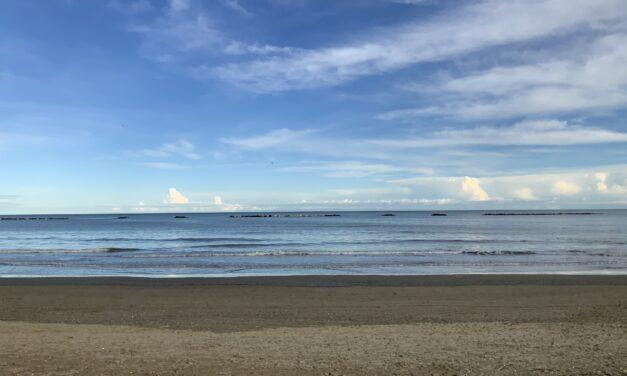 Cesenatico: lavori in corso per il ripascimento delle dune