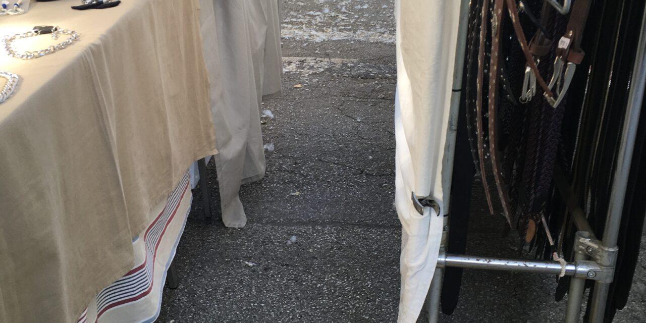 """Cesenatico: DIAMO VOCE AGLI AMBULANTI DEL VENERDÌ MATTINA. 100º TG SU SUOLO PUBBLICO """"UN MARE DI PIUMINI"""""""