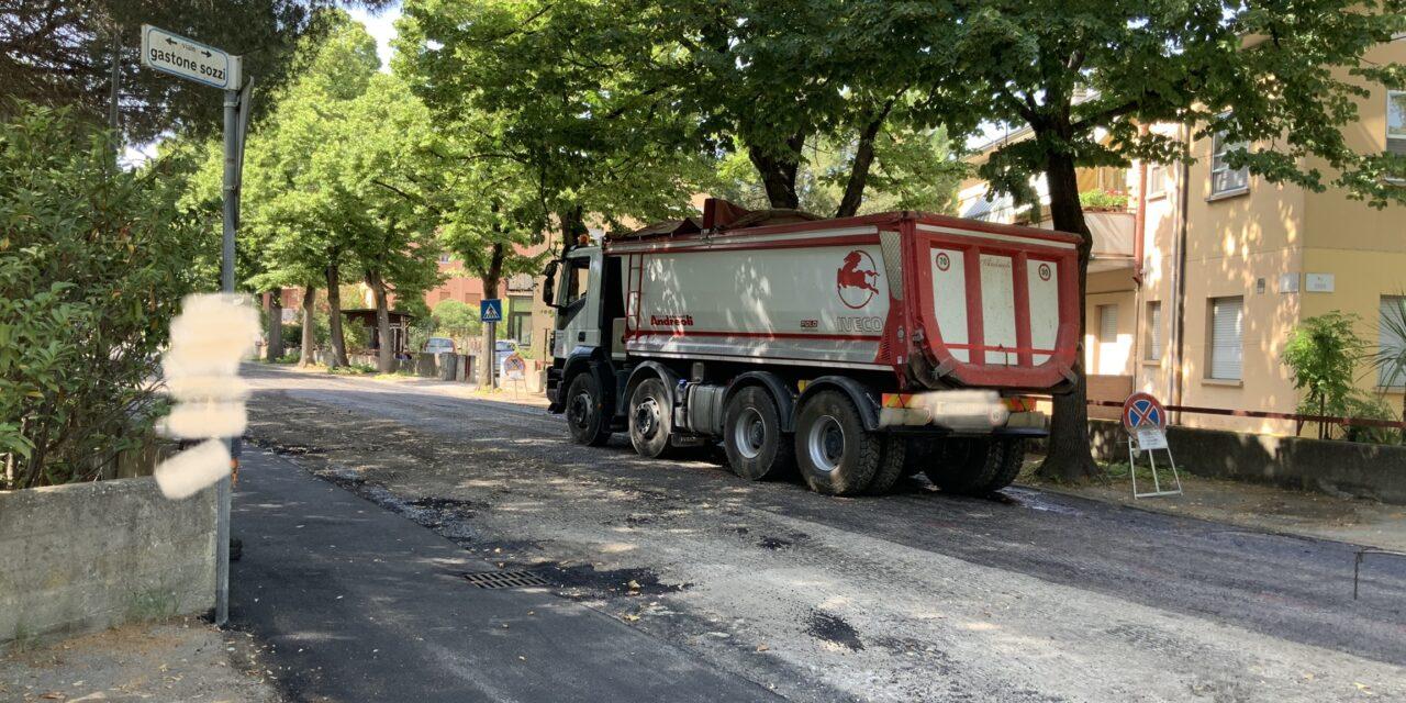 Cesenatico: 102º tg su suolo pubblico asfalto in via Sozzi? Aggiornamento