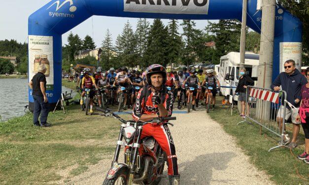 Bagno di Romagna dal Lago di Acquapartita. Campionato Romagna Bike Cup